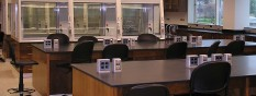 Teaching Lab with TruView Fume Hoods