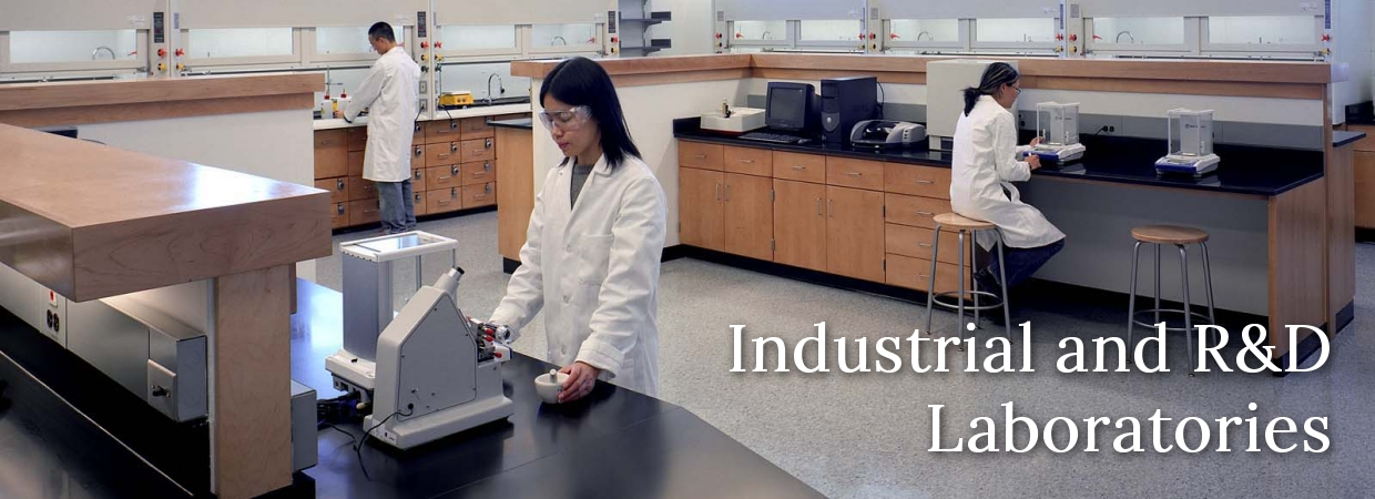 ndustrial and R and D Laboratories