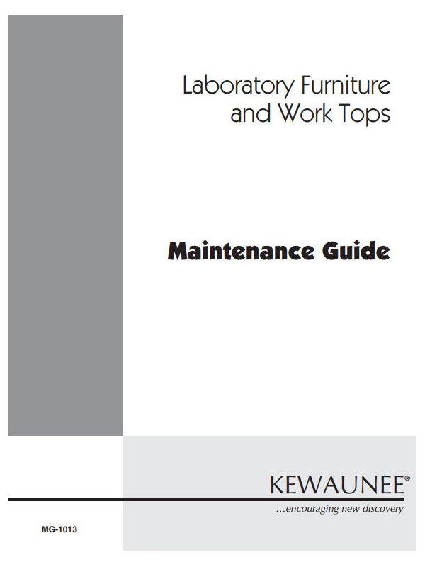 Kewaunee Furniture and Countertop_Maintenance