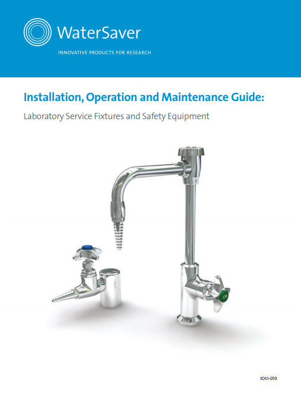 WaterSaver Installation Operation and Maintenance Guide