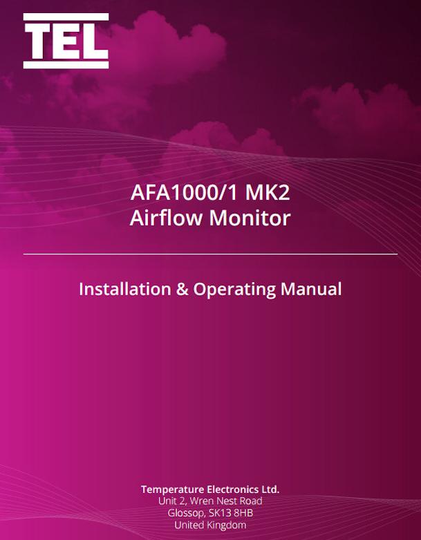 TEL 1000/1 Fume Hood Alarm Manual