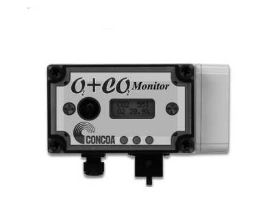 CONCOA Dual O2/CO2 Monitor